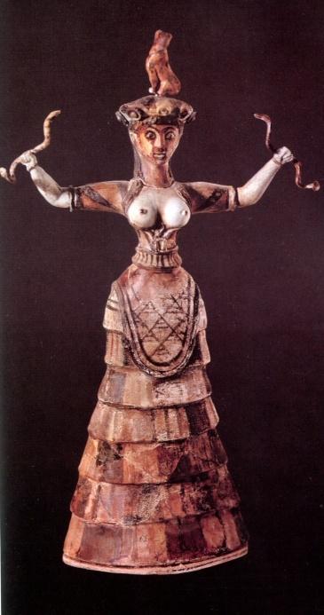 Sacerdotisa do culto à Deusa Mãe Britomartis (3)